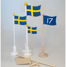 Bordsflaggor terapisats/DIY
